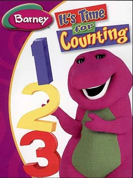Barney It's Time for Counting