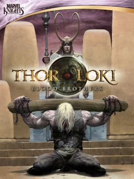 Thor And Loki Blood Brothers