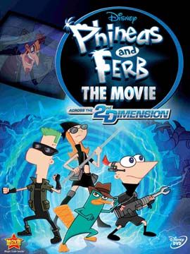 Phineas and Ferb the Movie: Across the 2nd Dimension - مدبلج