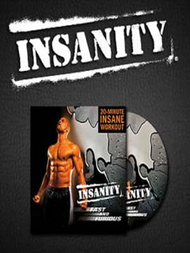 INSANITY Fast and  Furious: 20 Minute Maximum Fitness Results Workout
