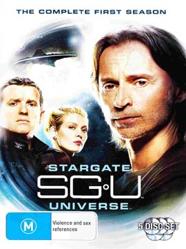 SGU Stargate Universe - The Complete Season One