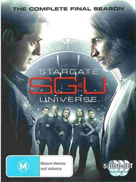 SGU Stargate Universe - The Complete Season Two