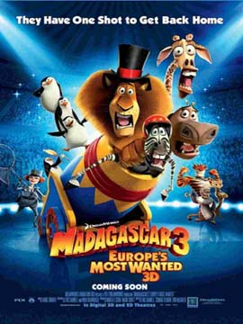 Madagascar 3: Europe's Most Wanted - مدبلج