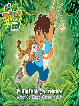 Go, Diego! Go! - Puffin Fishing Adventure