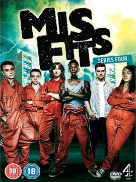 Misfits - The Complete Season Four