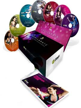 Exhilarate - The Ultimate Zumba Fitness DVD Experience