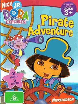 Dora The Explorer Pirate Adventure - مدبلج