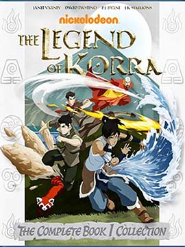 The Legend Of Korra - Book One - Air
