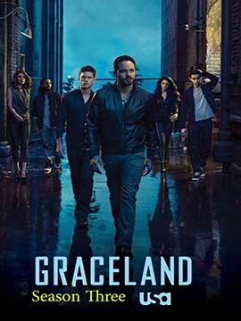 Graceland - The Complete Season Three