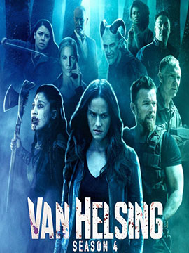 Van Helsing - The complete Season Four