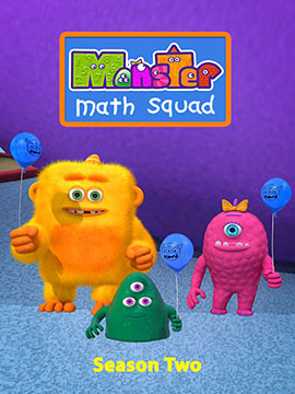 Monster Math Squad - The Complete Season Two - مديلج